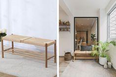 Trendy and Affordable: 12 Furniture Pieces To Get on Shopee | Qanvast Trendy Furniture, Kids Furniture, Living Room Furniture, Nordic Sofa, Rattan Bar Stools, Settee Sofa, Rattan Furniture, Home Reno, Fabric Sofa