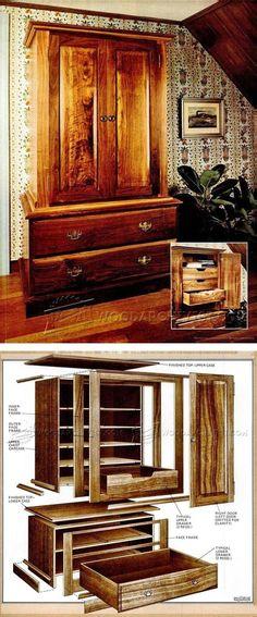 Craftsmans Wardrobe Plans - Furniture Plans and Projects | WoodArchivist.com