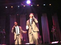"""Straight No Chaser at Miller Symphony Hall in Allentown, PA 12/23/12. Jerome asks Ryan to help him out with """"Let's Get It On"""". www.SNCmusic.com"""