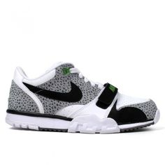 "BlackRainbow-Shop - NIKE ""AIR TRAINER 1 LOW"" WHITE/BLACK"