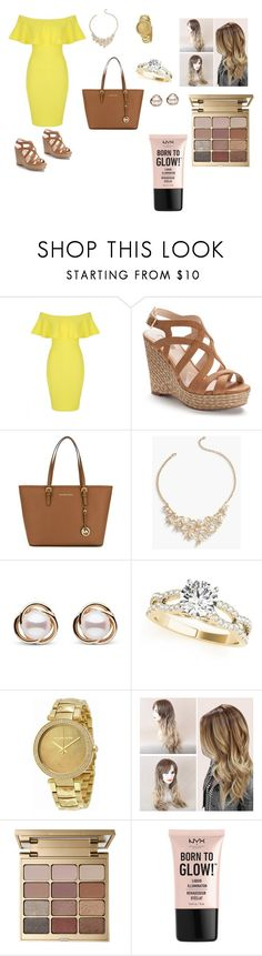 """Untitled #170"" by breedaniella ❤ liked on Polyvore featuring Jane Norman, Jennifer Lopez, MICHAEL Michael Kors, Talbots, Trilogy, Michael Kors, Stila and NYX"