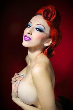 Model: Pinup Doll Ashley Marie Photography: Matt Anderson Photography MUAH: Pinup Doll Ashley Marie