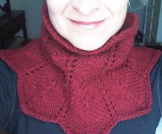 Ravelry: Project Gallery for Lacy Neckwarmer pattern by Joy Jannotti