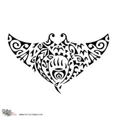 Mātātoa. Fearless. The manta ray symbolizes freedom, and inside of it there is[...] More info and hi-res at http://www.tattootribes.com/index.php?newlang=English&idinfo=7728