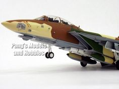 "Grumman F-14 US Navy VF-24 ""Camel Smoker"" 1:72 by Sky Guardians Diecast"