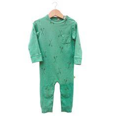 Oars mint green playsuit - lotiekids.com