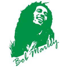 autocolant perete Bob Marley