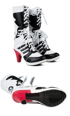 Suicide Squad Harley Quinn Boots