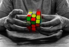 Learn a new skill, or solve a Rubik's cube to pass the time. | 23 Ways To Make Your Eternally Long Flight A Little Better