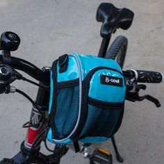 1,Small stature,large capacity,both sides string bags 2,Flexible use,It can be used as shoulder bag 3,Quick installation,Easily fixed with bike handlebar 4,Double open zipper,reflective logo,reflective tape,lights strap design,shockproof protection 5,Size:5.12*3.15*7Inch;Capacity:0.5L;Weight:2.24OZ
