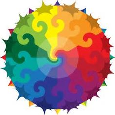 color wheel design - Yahoo Image Search Results Color Wheel Design, Colour Wheel, Primary Secondary Tertiary Colors, Circle Art, Rainbow Colors, Bright Colors, Elements Of Art, World Of Color, Art Lesson Plans