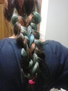 Mermaid braid.