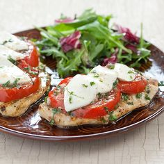 10 Exciting Caprese Recipes.  These look amazing!