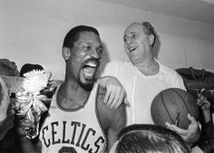 April 28, 1966 - Coach Red Auerbach's Boston Celtics, led by Bill Russell, Sam Jones and John Havlicek on offense and by Tom Sanders and Don Nelson on defense, won a record eighth straight NBA title, defeating the Los Angeles Lakers in seven games.  The closest any teams have come to the mark are three straight titles by the Chicago Bulls (1991-93 and 1996-98) and the Lakers (2000-2002).