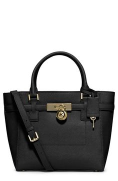 MICHAEL Michael Kors 'Medium Hamilton' Saffiano Leather Tote available at #Nordstrom