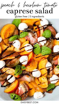 Vegetable Salad Recipes, Summer Salad Recipes, Healthy Salad Recipes, Summer Salads, Lunch Recipes, Meal Recipes, Healthy Meals, Free Recipes, Salads