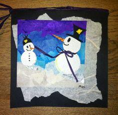 Snowmen tissuepaper