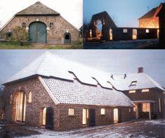 Monumentale Boerderij in Vorden Stables, Mansions, House Styles, Villa, Houses, Home Decor, Barn Living, Homes, Luxury Houses