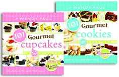 101 Gourmet Cupcakes & 101 Gourmet Cookies - would like to add these to me collection.