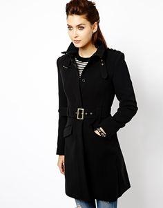 Warehouse Belted Coat
