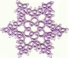 tatted snowflakes pattern - Yahoo Image Search Results