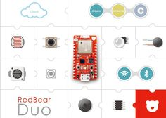 RedBear Duo Wi-Fi And BLE Internet of Things Development Board