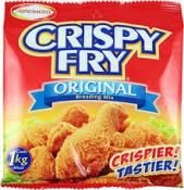 CRISPY FRY® is a complete breading mix that guarantees the crispiness and yumminess of fried chicken. It has the perfect blend of flour, starches, seasonings and spices so no need to marinate. It comes in three flavors: Original, Garlic and Spicy; and also offers a pack with a gravy mix that can make half a liter of rich, flavorful gravy.  Kids just can't get enough of irresistibly crispy fried chicken that only CRISPY FRY® Breading Mix can make. No wonder CRISPY FRY® is a hit among Filipino…