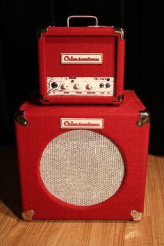 Crimsontones SE mini boutique tube guitar amplifier cab, guitar amp combo http://www.guitarandmusicinstitute.com