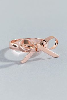 Blaire Delicate Bow Ring