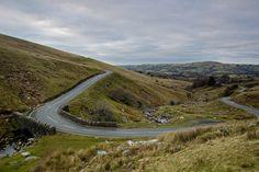 A4069. Black Mountain Pass,  Breacon Beacons National Park. Wales