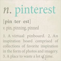 pinterest ... I love you!