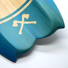 Board Art, Surf Board, Longboards, Skateboards, Plane, Vikings, Surfing, Woodworking, Handmade