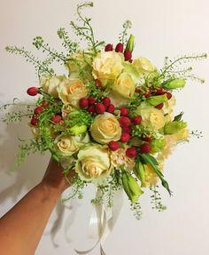 Roses & hypericum   www.myreika.com Enquiries@myreika.com
