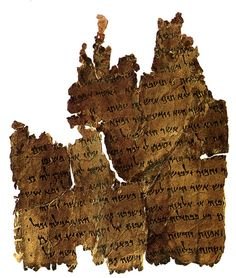 """The Damascus Document of the Dead Sea Scrolls. 1st century BCE. Addresses a community of sectarian Jews, urging the  """"sons of light"""" to be separate from the """"sons of darkness"""" and outlines laws and rituals."""
