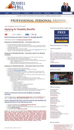 If You Recently Applied For Disability Benefits You May Need A