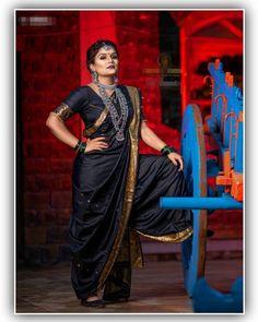 Choli Blouse Design, Blouse Designs, Kashta Saree, Sarees, Sunset Photography, Girl Photography Poses, Marathi Saree, Marathi Wedding, Nauvari Saree