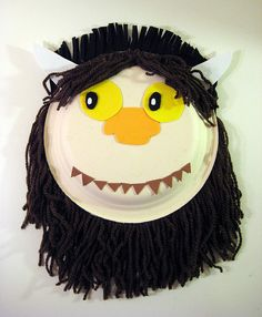 Where the Wild Things Are Mask - Hair All Around by spin off stuff, via Flickr