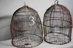 ++rusty bird cages++