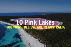 Did you know there are over 10 pink lakes in Australia? We've searched high and low and have found the best pink lakes to visit in Australia! Pink Lake Australia, Coast Australia, Visit Australia, Western Australia, Pink Lake Victoria, Lake Hillier, Resorts In Georgia, Clare Valley, Gary Pepper Girl