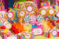 "Photo 18 of 34: Lollipop party / Birthday ""Lollipop""   Catch My Party"