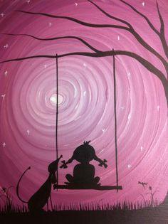Have the wish I wish tonight 10 x 8 acrylic on by MichaelHProsper, $25.00