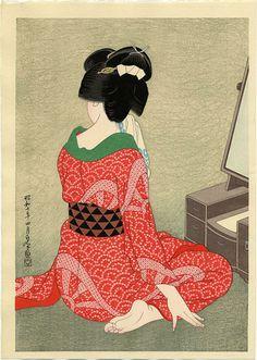 Strawberry Kimono: Photo