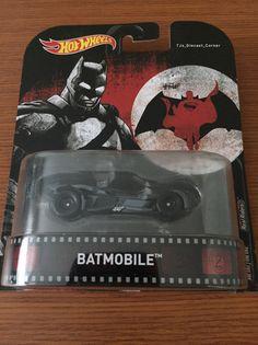 Batwing Batman V Superman Batmobile VS Retro Entertainment 1:64 Hot Wheels DWJ73