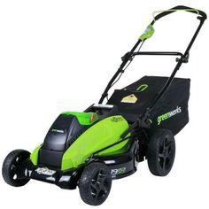 Greenworks Digi-Pro GMAX 19 in. 40-Volt Brushless Cordless Walk-Behind Lawn Mower - Battery and Charger Not Included $279.00 #BestRevews