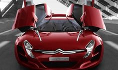 Citroen with 4 wings!