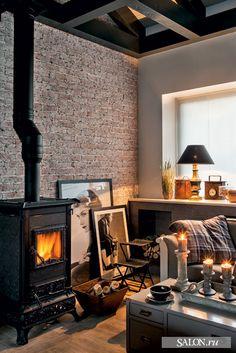 Комната отдыха в бане может не нести в своём облике ничего банного и выглядеть как уютная гостиная