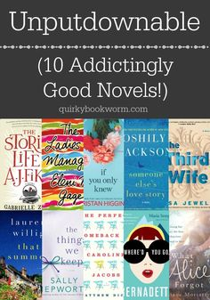 >>>Cheap Sale OFF! >>>Visit>> Unputdownable: 10 Addictingly Good Novels including What Alice Forgot Someone Elses Love Story Whered You Go Bernadette? The Perfect Comeback of Caroline Jacobs and more. I Love Books, Great Books, My Books, Reading Books, Good Audio Books, Best Book Club Books, Best Books Of 2017, Best Books Of All Time, Best Fiction Books