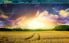field - wallpaper pack by manlikemark.deviantart.com on @deviantART