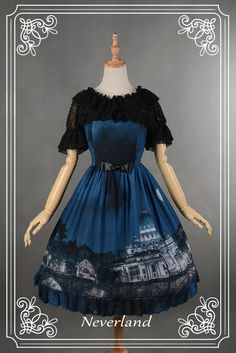 For Summer: Do you know the below [-❤-inner blouse from Neverland Lolita-❤-] is only 10.99USD? >>> http://www.my-lolita-dress.com/neverland-lolita-hime-sleeves-round-collar-chiffon-lolita-inner-wear-lolita-blouse-gc-156