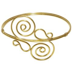 Goddess Arm Cuff (€20) ❤ liked on Polyvore featuring jewelry, bracelets, cuff bangle, cuff jewelry and arm cuff jewelry